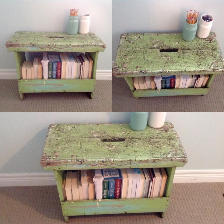 Rustic carpenters bench/ end table