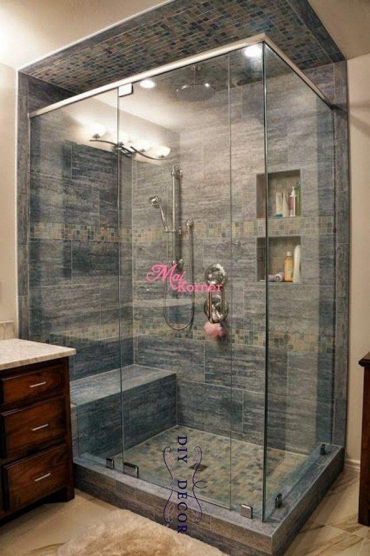 ✔44 schöne badezimmer dusche umgestalten ideen 36 #badezimmerdusche #badezimmerdusche #umgestalten – Karen Brownell