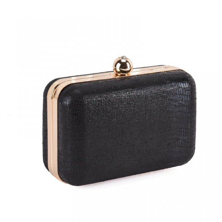 Cracks Skin Velvet #Clutch #Bag Size:L13*W6*H9.5cm Material: Skin Velvet Colour: Black, Light Gold, Silver Hasp closure Long chain included and one accessory pocket inside Spacious to collect your stuffs,such as phone,comestic,etc Perfect for special events, weddings or just simply an evening out:https://www.bagsforbags.com/product-category/womens/womens-clutches-evening-bags/