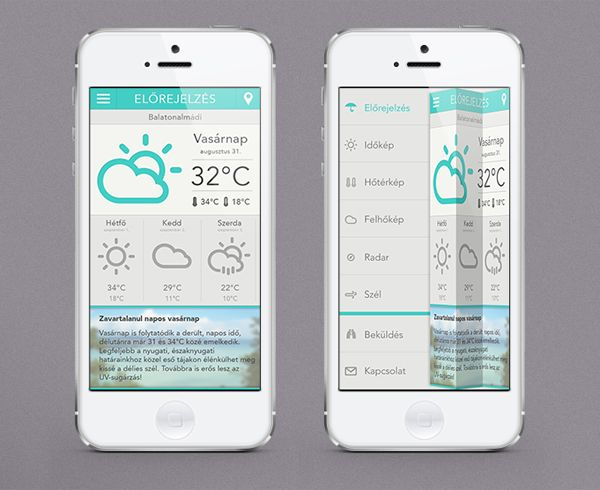 20 Appartement conceptions de l'interface portable versez Votre source d'inspiration