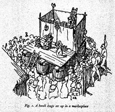 #earlymedieval #medievaltheater #pageantwagons #wagon