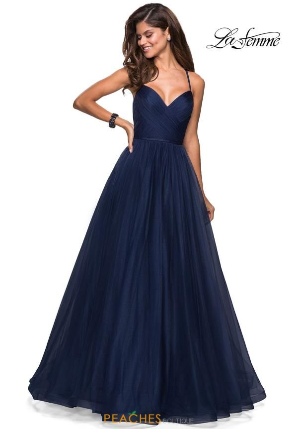 993e904029b Flatter your figure and wear this La Femme style 27535 for your senior  prom. The one of a kind gown showcases a stunning sweetheart neckline thus  flaunting ...