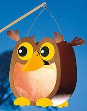 Owl lantern tutorial