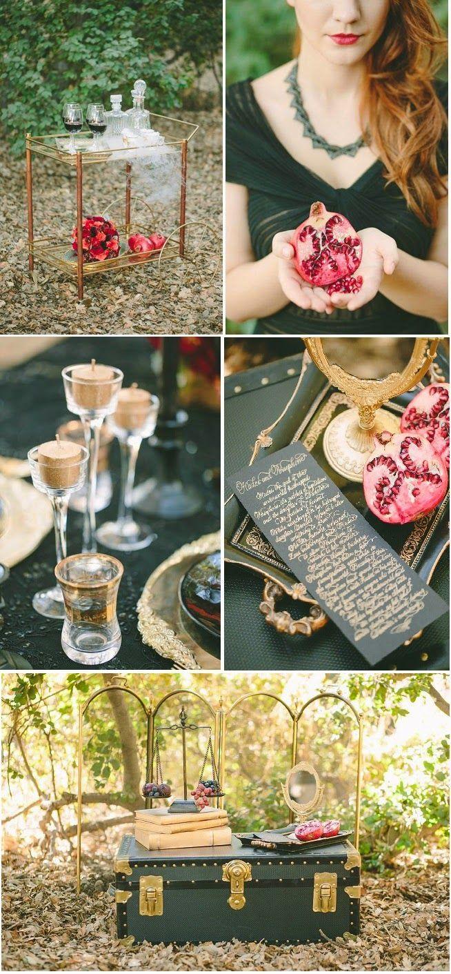 Wedding inspiration | Matrimonio a tema melagrano