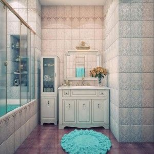Vintage Cream - Beautiful Bathroom Color Schemes