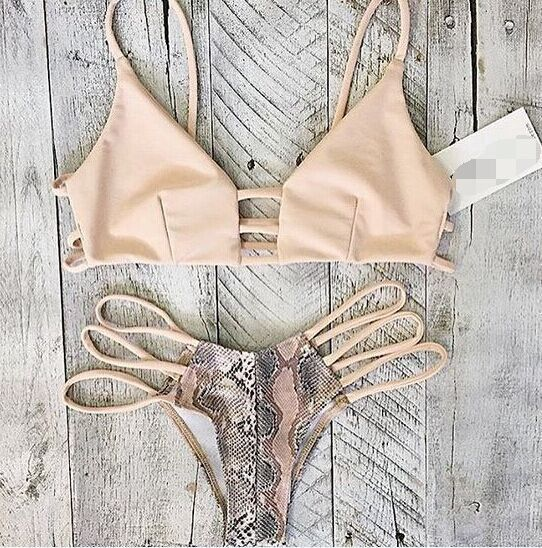 Top and Bottom Included  -Brazilian cut cheeky Bottoms  --Runs true to size--  Made with Love  * No Returns on Swimwear *