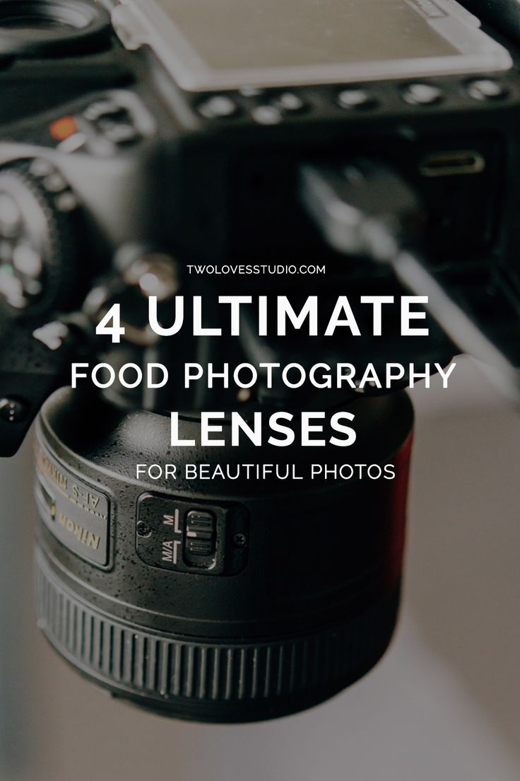 From beginner to expert, budget to expensive, here are the 4 ultimate food photography lenses you'll want to consider along the way. Click to read.
