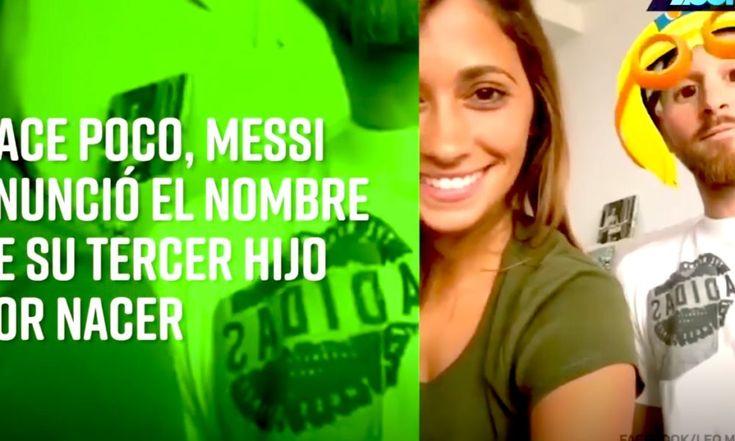 Nombre Del Hijo De Messi Suena A 'Cristiano' En Chino