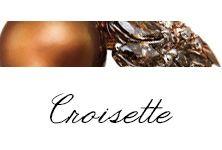 #Bibigi   Collezione #Croisette   Gioielli in oro rosa, perle chocolat, diamanti brown e diamanti