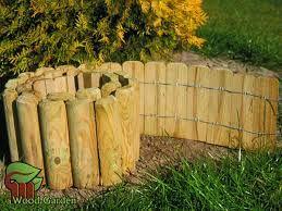 obrzeża drewniane