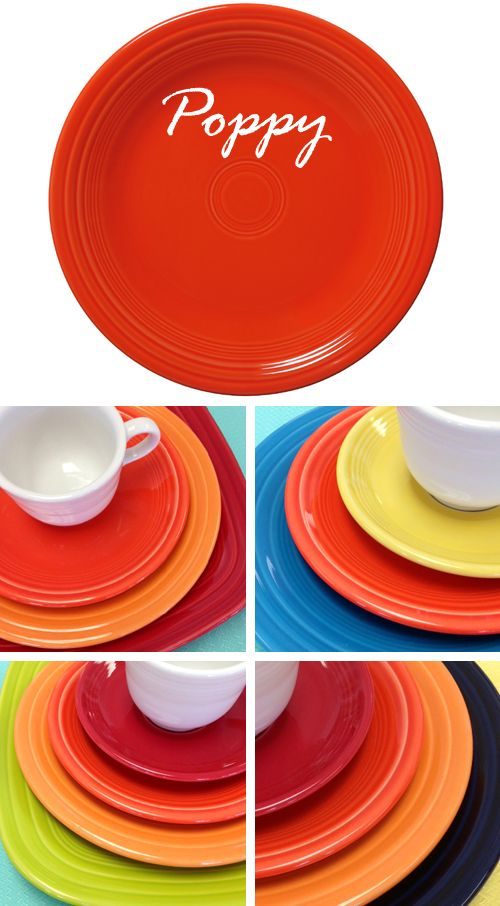 New Fiesta Poppy for 2014 | Fiesta® Dinnerware and Dishes Fiestaware on Sale - & 399 best fiestaware images on Pinterest | Fiesta ware Fiesta ...