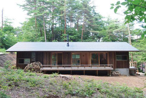 自然素材の家 アトリエDEF » 安曇野の家