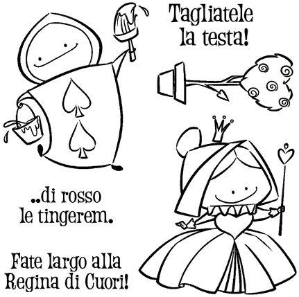 IMPRONTE D'AUTORE - STAMPING - NOVITA' - ULTIMI ARRIVI!!! - 1948-CLEM-A Regina di Cuori