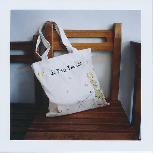 Me encanta esta bolsa de El Principito...!