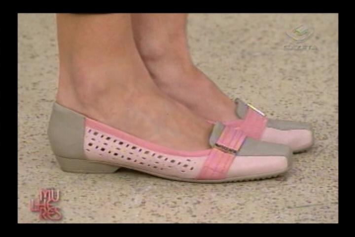 Desfile das novas tendências da Coleção Cores Pontal Calçados - Programa Mulheres - 13/09