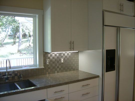 Stainless Steel Tile Backsplash From Modwalls Part 76