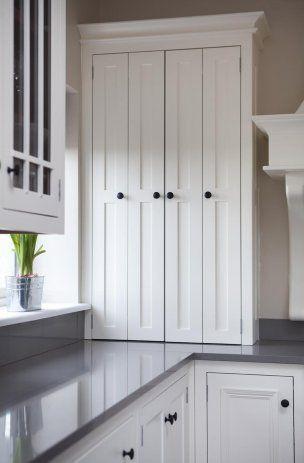 Larder with bi-fold doors