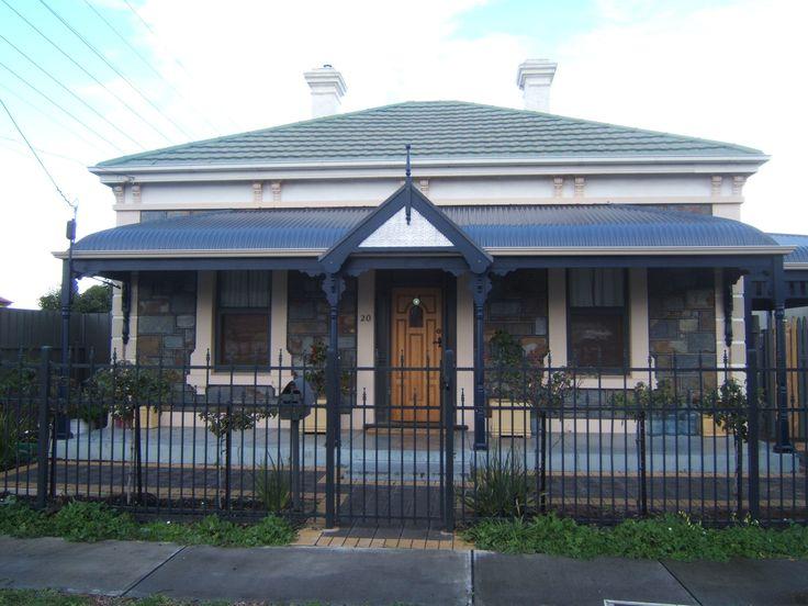 bullnose gable verandah - Google Search