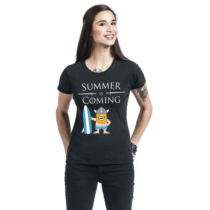 Summer Is Coming  T-Shirt  »Summer Is Coming« | Buy now at EMP | More Fun merch  T-shirts  available online ✓ Unbeatable prices!