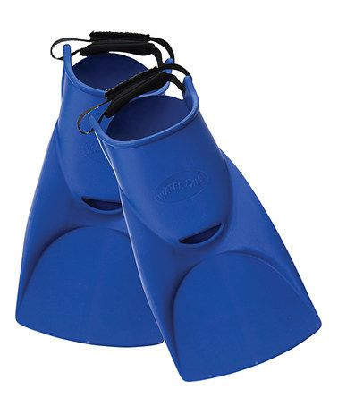 Take a look at this Blue Kid Finz Swim Flippers by FINIS on #zulily today!