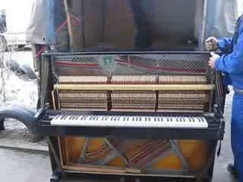 Перевозка пианино. Грузоперевозки грузчики.