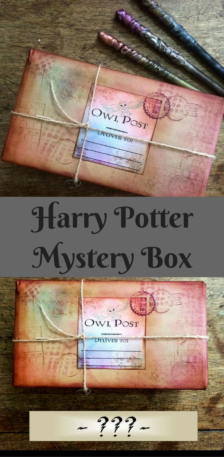 Harry Potter Mystery Box!! Coolo gift idea for the Harry Potter fan!! #harrypotter #giftideas #ad