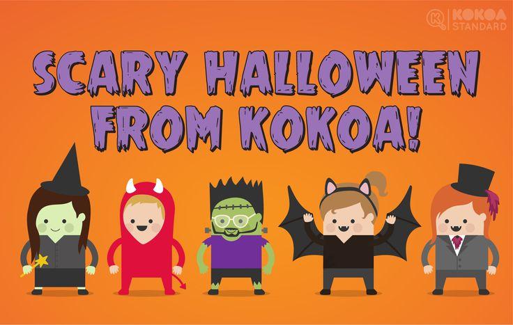 Scary Halloween from Kokoa!