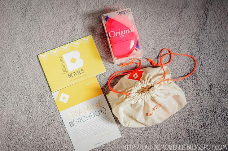 Le blog de Lau Demoizelle : Vie de Maman: Birchbox + Tangle teezer
