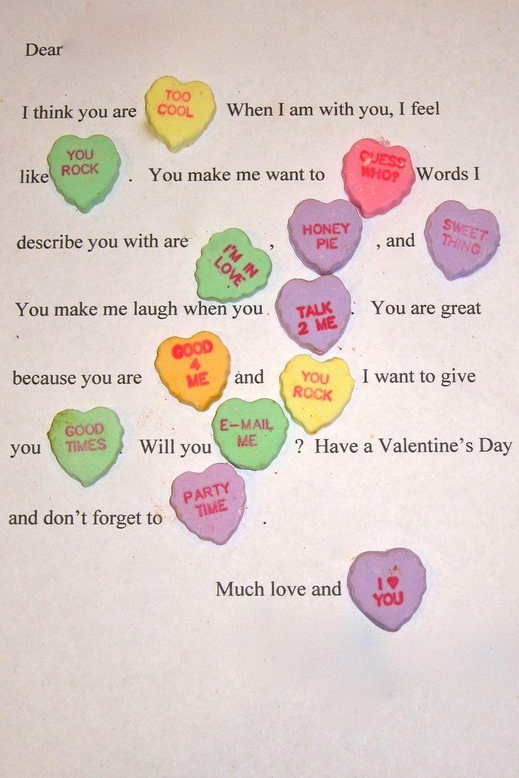 54 best images about Boyfriend gifts – What to Write in Boyfriends Valentines Card