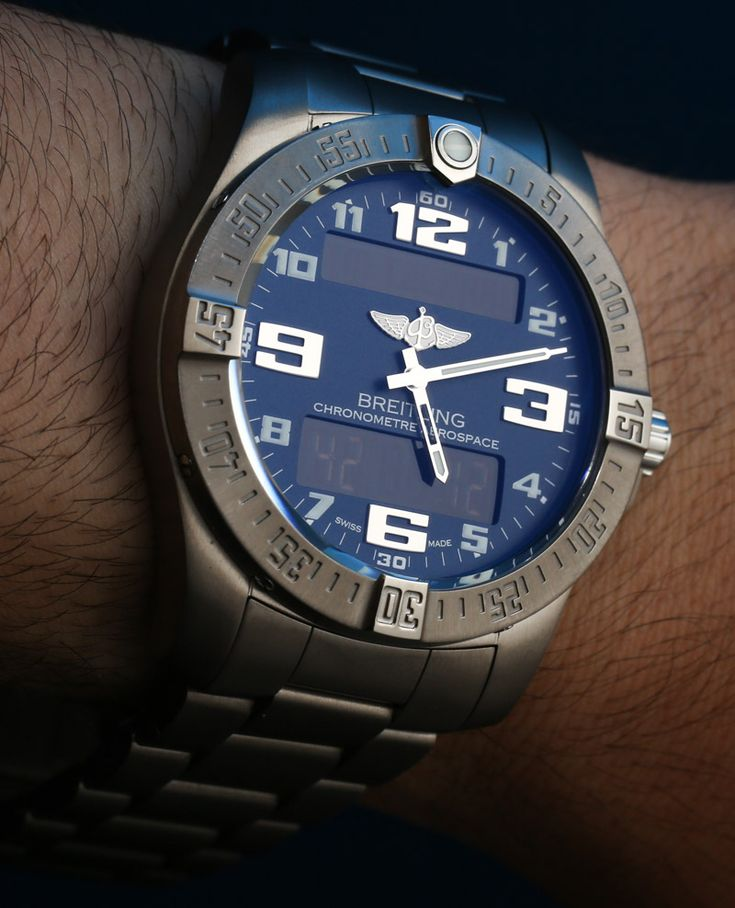 Breitling Aerospace Evo Watch E7936310/C869 Hands-On