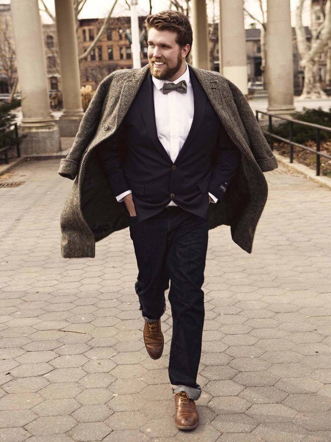 IMG Models a inauguré un département pour les modèles masculins grande taille. Le monde de la mode évolue dans le bon sens.