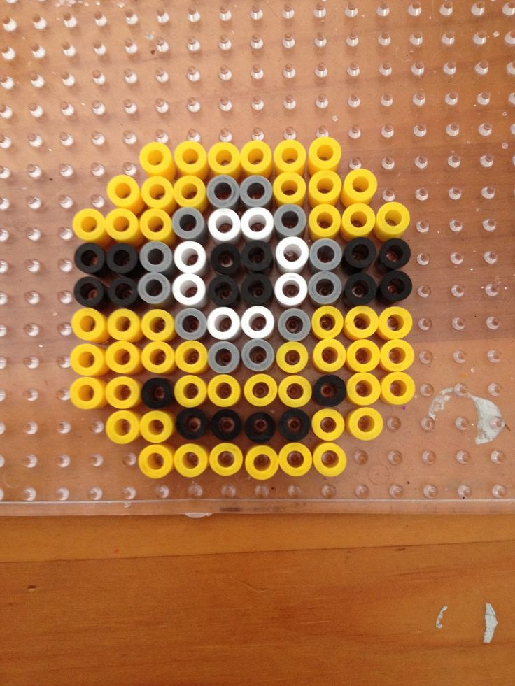 Minion magnet perler beads by Jena-Rose on deviantART