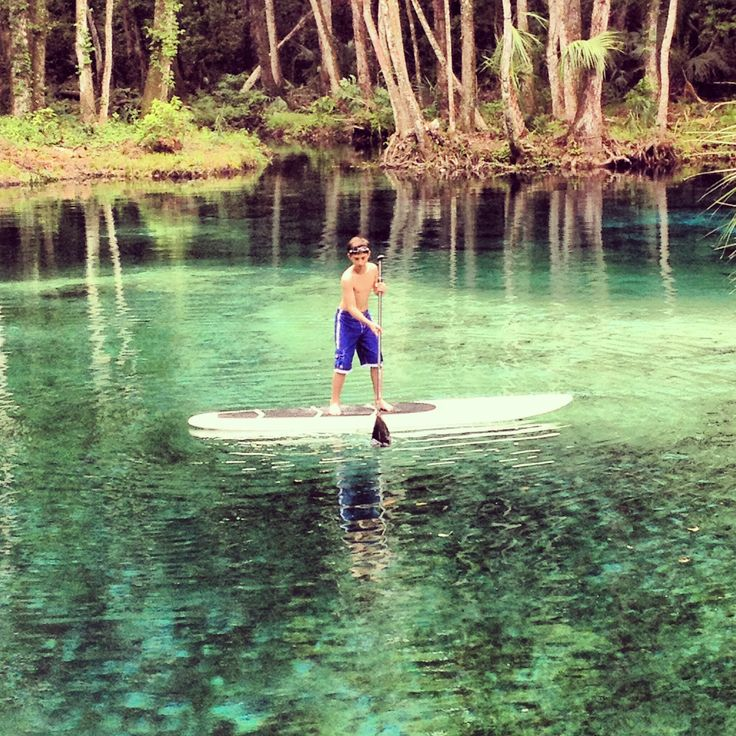 Best Places In Florida For Fishing: Gissy Springs, Rainbow River, Florida