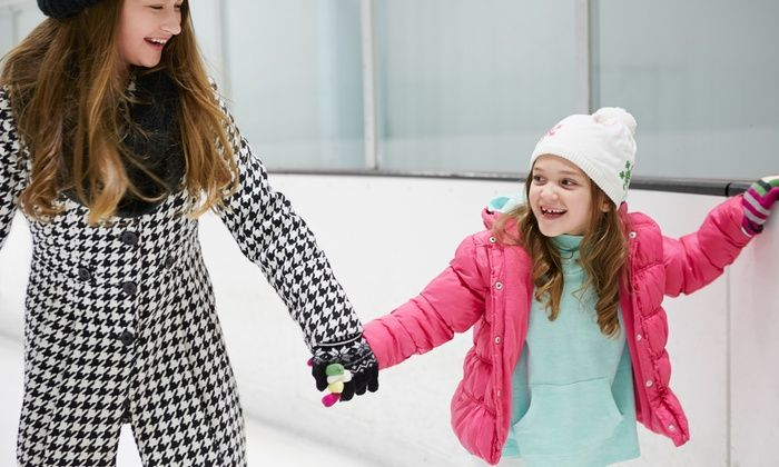 San Diego Ice Arena - San Diego Ice Arena: Public Ice-Skating Session for Two or Four with Skates at San Diego Ice Arena (54% Off)