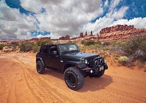 К Jeep Wrangler приложили годовой пропуск в национальные парки США