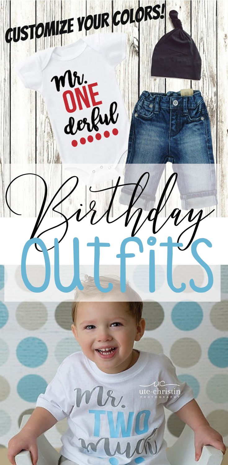 Birthday Boy Outfits | Birthday Boy Personalized Clothes | Second Birthday Boy Outfit | First Birthday Boy Outfit