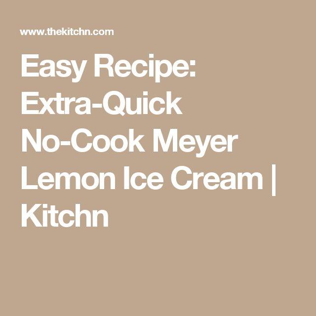 Best 25+ Lemon Ice Cream ideas on Pinterest | How to make ...