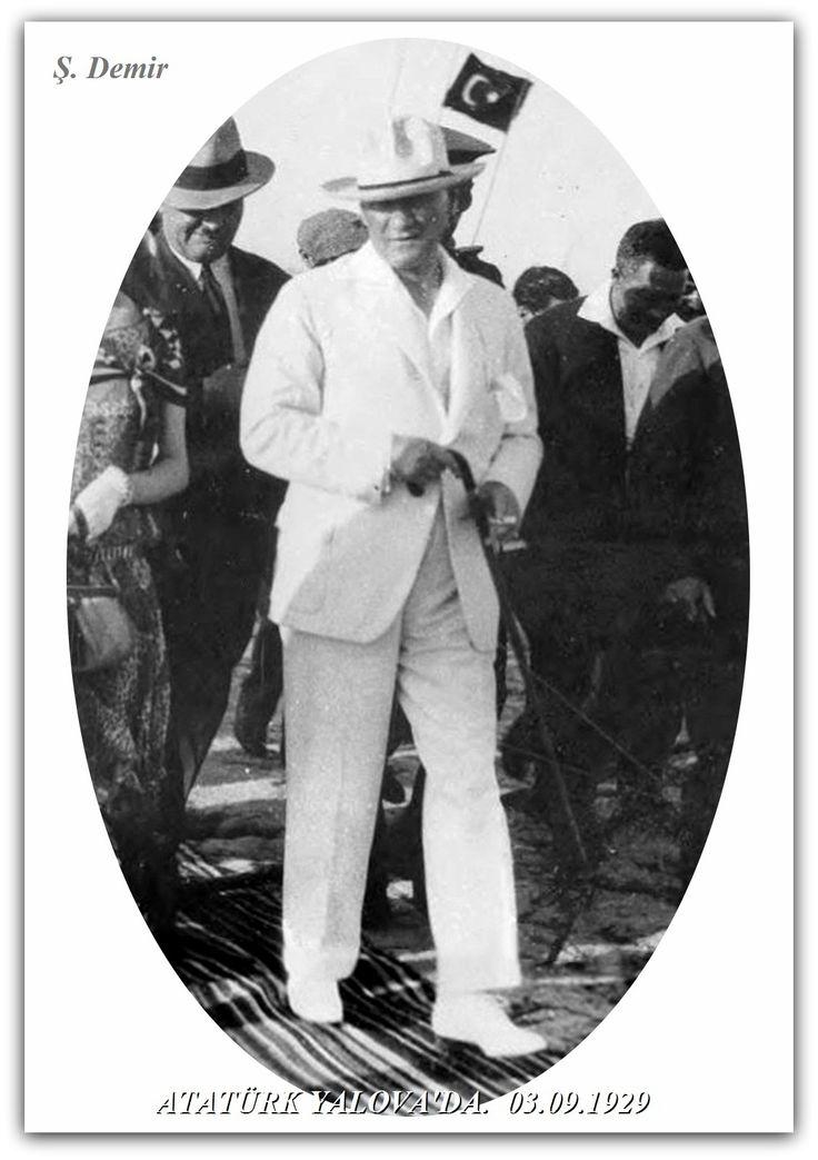 Atatürk Yalova'da. 03.09.1929