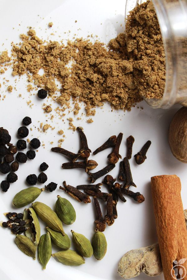 Homemade Tea Masala Powder made with 6 Ingredients   Spices for Indian Tea (chai)