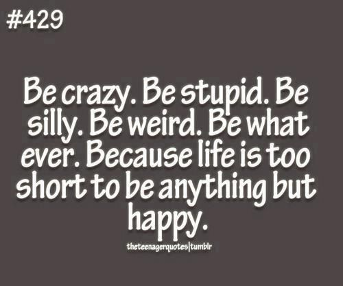 Crazy Friend Quotes Be Crazy Be Stupid For Sure Quotes Quotes