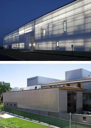 Translucent Polycarbonate Walls Extech Exterior
