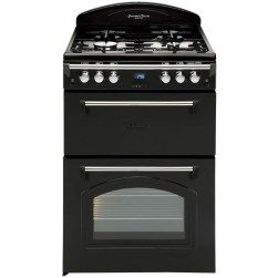 Buy Leisure GRB6GVK Heritage Double Oven 60cm Gas Cooker - Black from Appliances Direct - the UK's leading online appliance specialist