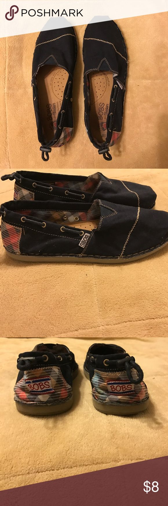 Navy Bobs Navy Bobs by Skechers Bobs Shoes Flats & Loafers