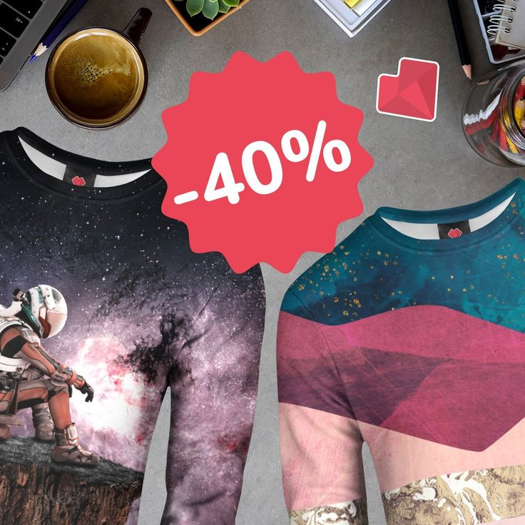 It's here! Our weekend #sale is ON. Enjoy 40% OFF for sweaters, find your designs and get them now  https://liveheroes.com/en/shop/women/sweater?special=featured
