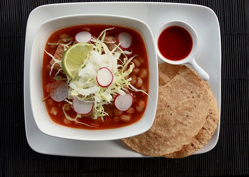 posole  Mexican Food Comida Mexicana