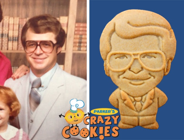 40th Birthday Ideas - Custom Cookies - #40th #Birthday #Favors