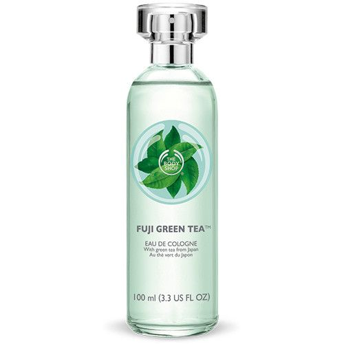 Awaken and revive the senses with the sophisticated aroma of our citrus-fresh scent of Fuji Green Tea™ Eau de Cologne. It's the perfect blend of green tea, bergamot, lemon and mandarin top notes with a floral heart of camellia, jasmine and violet. Refreshingly light and crisp, it's a classic scent for daytime sophistication. Sophisticated, fresh fragrance. Light and wearable. Enriched with Community Fair Trade Alcohol from Ecuador.