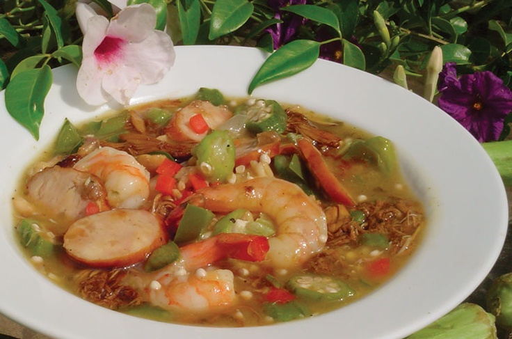 DUCK GUMBO from The Hunters Table Cookbook, Ducks Unlimited - for all you wild game lovers, this wonderful duck recipe has a cajun-influence sure to please - enjoy!