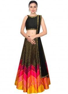 Tempting Satin Designer Lehenga Choli