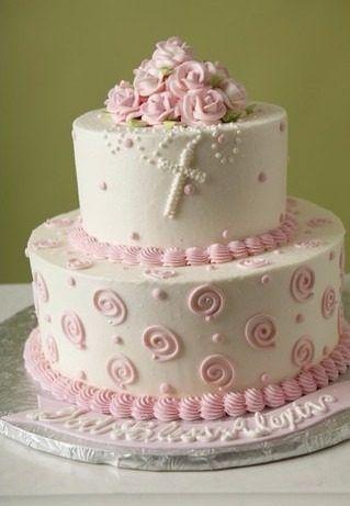tortas de bautizo para niña - Buscar con Google